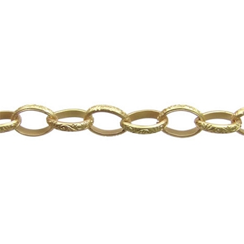 Celtic Chain - Matte Gold