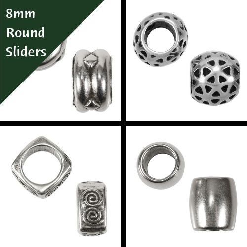 8mm Round Sliders