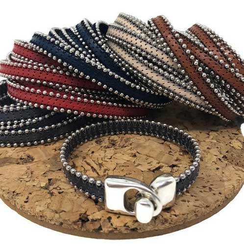Ball Chain Leather