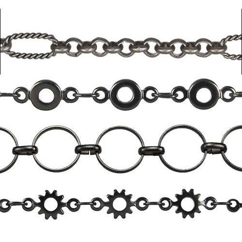 Matte Gun Metal Chain