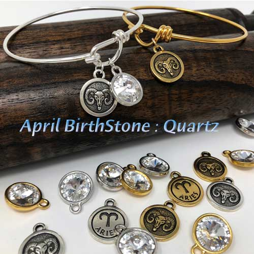 April BirthStone Quartz