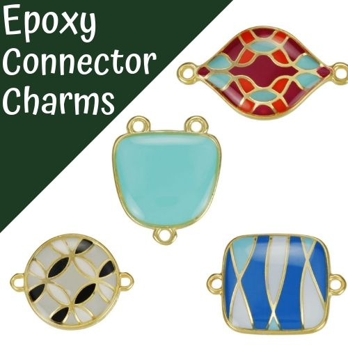 Epoxy Connector Charms