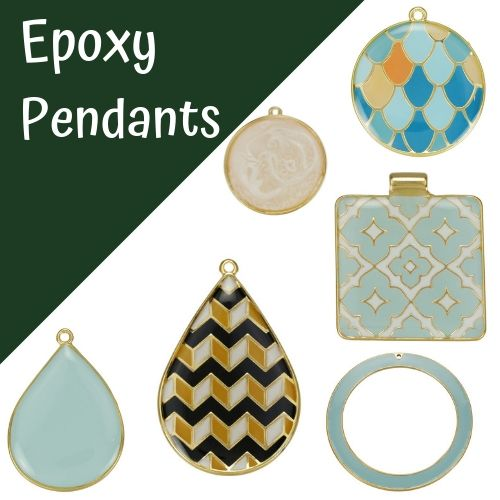Epoxy Pendants