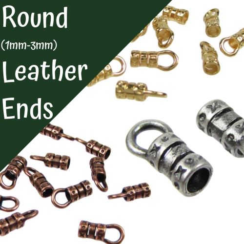 Ends For Round Leather Cord