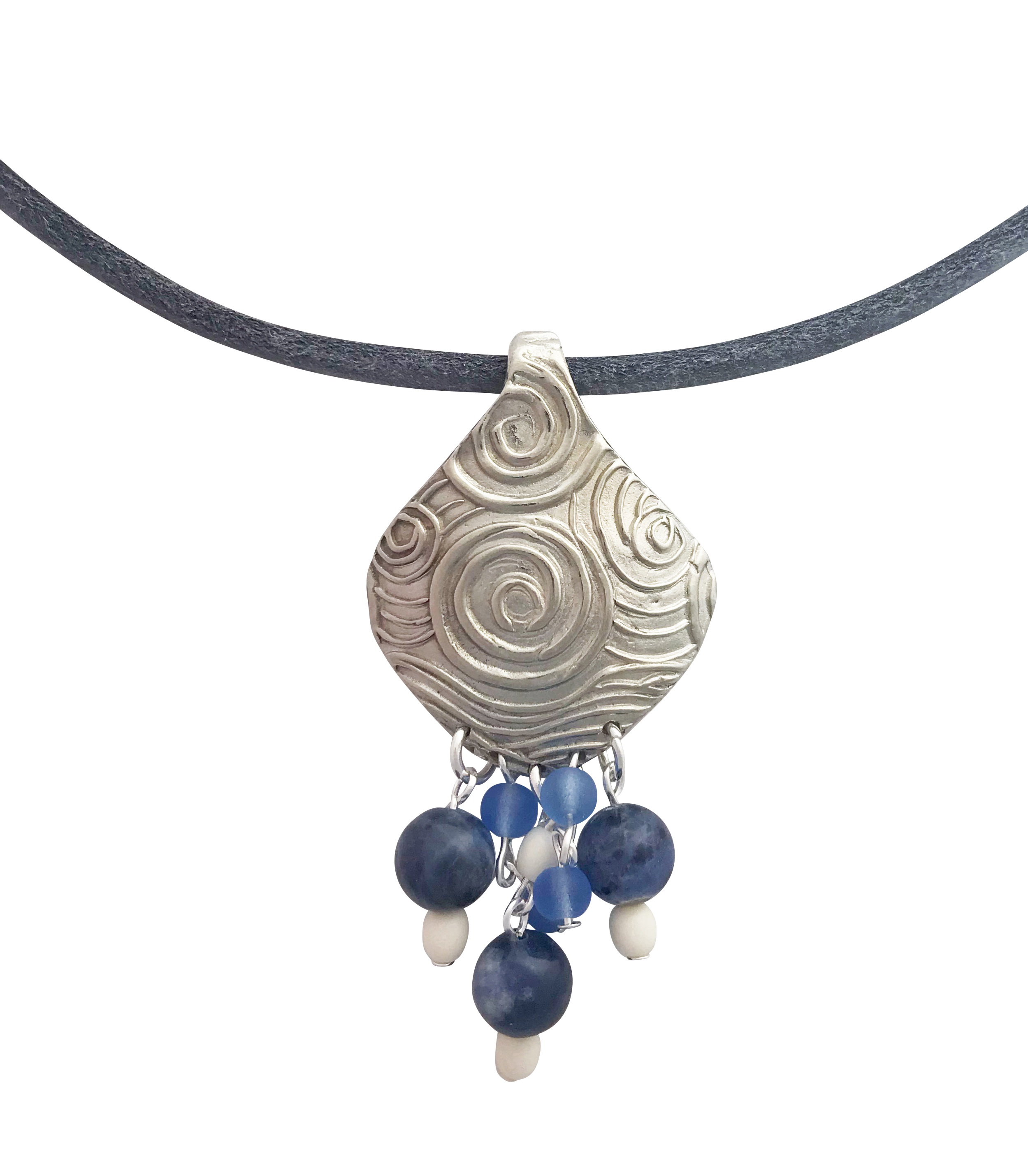 Simple Sodalite Necklace