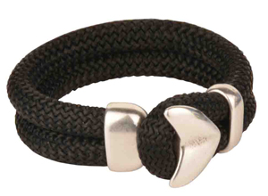 Arrow Head Mens Nylon Cord Bracelet