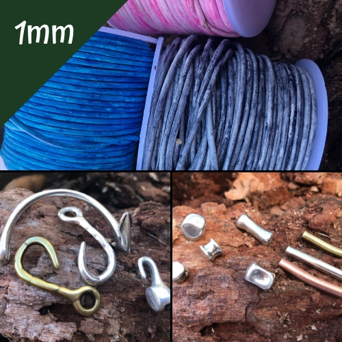 1.0mm Round Beading Cord, Clasps and Components