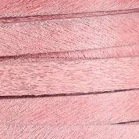 10mm flat HAIR ON leather PINK