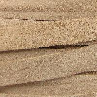 Suede 10mm Flat Cord - Taupe