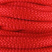 Nylon 10mm Round Cord - Red - per inch