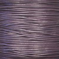 1.5mm Round Leather Cord - Purple
