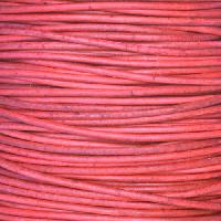 1.5mm Round Indian Leather Cord - Natural Primrose