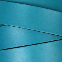 20mm Flat Leather Cord - Teal