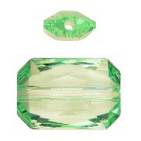 Swarovski 5627 27mm Emerald Cut Large Hole Bead - Chrysolite
