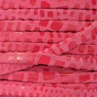 Cancun 5mm Flat Leather Cord - Cerise