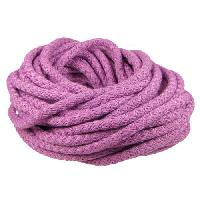 Nylon 5mm Round Cord - Orchid
