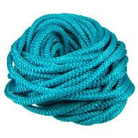 Nylon 5mm Round Cord - Turquoise - per inch