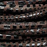Cancun 5mm ROUND Leather Cord - Brown - per inch