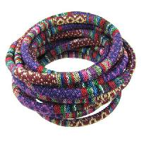 Cotton 6mm ROUND Cord - Purple