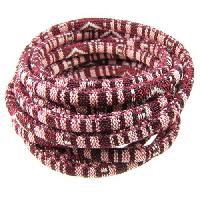 Cotton 6mm ROUND Cord - Bordeaux