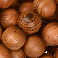 Bayong Wood Bead Round 15mm