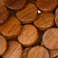 Bayong Wood Bead Coin 15mm