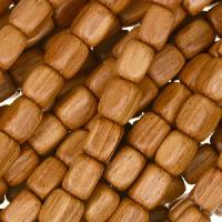 Bayong Wood Bead Rectangle 5x7mm