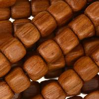 Bayong Wood Bead Cube 8mm