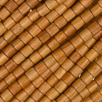 Bayong Wood Bead Tube 4x4mm