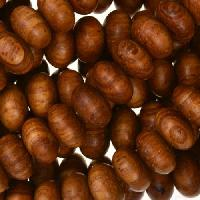 Bayong Wood Bead Rondelle 6x10mm