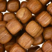 Bayong Wood Bead Cube 10mm