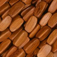 Bayong Wood Bead 3 Sided Oval 5x12mm