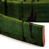 Portuguese 10mm FLAT Cork Cord - Grass Green
