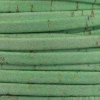 Portuguese 5mm FLAT Cork Cord - Mint