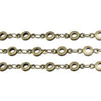 Chain Bubbles 4mm - Antique Brass
