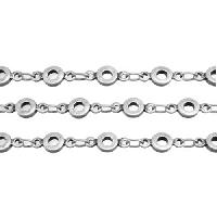 Chain Bubbles 4mm - Antique Silver