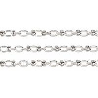 Lauren's Chain - Silver Plated - per foot