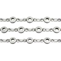 Ute's Chain - Antique Silver - per foot