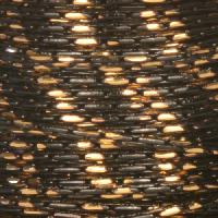 Chain Beading Two Tone 1mm - Black / Gold