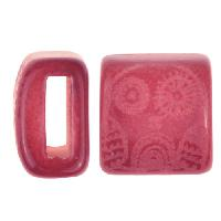 Clay River / Lillypilly Slider Flat 10mm Owl - Bing Cherry