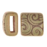 Clay River / Lillypilly Slider Flat 10mm Wave - Patina Green