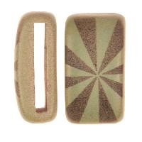 Clay River / Lillypilly Slider Flat 20mm Starburst - Patina Green
