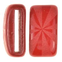 Clay River / Lillypilly Slider Flat 20mm Starburst - Red