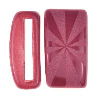 Clay River / Lillypilly Slider Flat 20mm Flowers - Bing Cherry