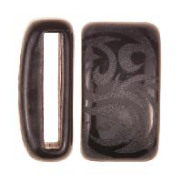 Clay River / Lillypilly Slider Flat 20mm Tattoo - Black