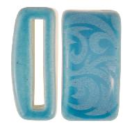 Clay River / Lillypilly Slider Flat 20mm Tattoo - Teal Blue