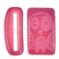 Clay River / Lillypilly Slider Flat 20mm Owl - Bing Cherry