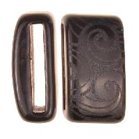 Clay River / Lillypilly Slider Flat 20mm Wave - Black
