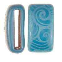 Clay River / Lillypilly Slider Flat 20mm Wave - Teal Blue