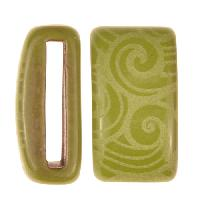Clay River / Lillypilly Slider Flat 20mm Wave - Lime